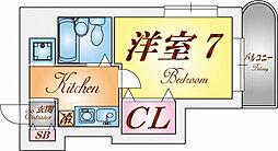 須磨パークアヴェニュー[5階]の間取り
