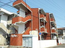 埼玉県鶴ヶ島市脚折町2丁目の賃貸マンションの外観