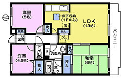 エクセル上さぎ[1階]の間取り