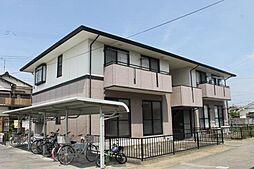 愛知県岡崎市渡町字能光前の賃貸アパートの外観