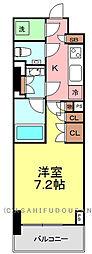 ザ・パークハビオ上野レジデンス[4階]の間取り