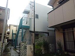 兵庫県神戸市東灘区北青木3丁目の賃貸アパートの外観