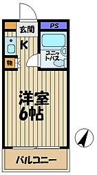 ウィン大船[301号室]の間取り