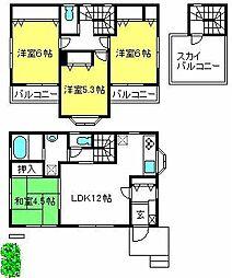 [一戸建] 埼玉県さいたま市大宮区天沼町1丁目 の賃貸【/】の間取り