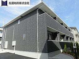 愛知県豊橋市東幸町字大山の賃貸アパートの外観