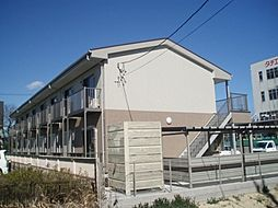 愛知県安城市浜屋町の賃貸アパートの外観