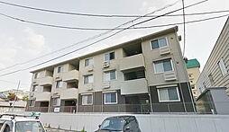 福島県郡山市菜根3丁目の賃貸アパートの外観