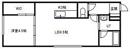 北海道札幌市中央区北一条東8丁目の賃貸マンションの間取り