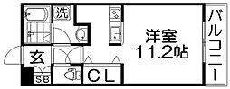 ティアラコート東香里[3階]の間取り