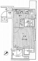 プレール・ドゥーク八丁堀[8階]の間取り