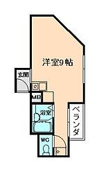 サンフラットII[3階]の間取り