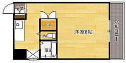141ビル[4階]の間取り