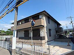 大阪府池田市神田2丁目の賃貸アパートの外観