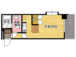 エステートモア博多駅前[2階]の間取り