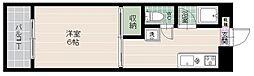 グランドハイツ百道[2階]の間取り