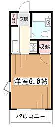 ライトプレイス[1階]の間取り