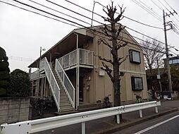 埼玉県川越市野田町2丁目の賃貸アパートの外観