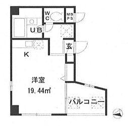 埼玉県さいたま市見沼区東大宮4丁目の賃貸マンションの間取り