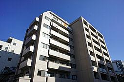 栃木県宇都宮市馬場通り3丁目の賃貸マンションの外観