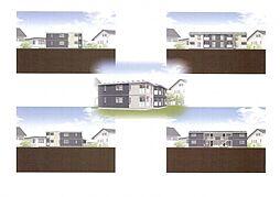 仮)野芥4丁目新築オートロック付アパート[201号室]の外観