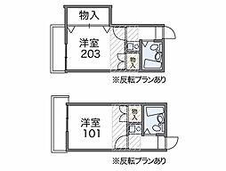 大船第1[2階]の間取り