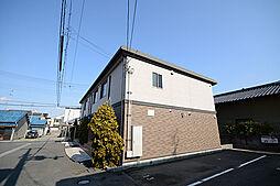 大阪府高石市加茂3丁目の賃貸アパートの外観