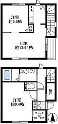 [テラスハウス] 神奈川県鎌倉市今泉3丁目 の賃貸【/】の間取り