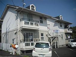 岡山県倉敷市児島田の口3丁目の賃貸アパートの外観