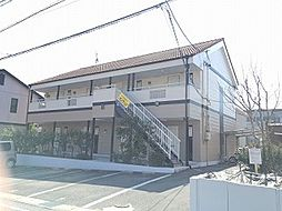 愛知県みよし市三好丘旭2丁目の賃貸アパートの外観