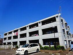 栃木県小山市乙女2丁目の賃貸マンションの外観