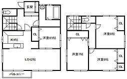 [一戸建] 北海道札幌市中央区南十五条西5丁目 の賃貸【/】の間取り