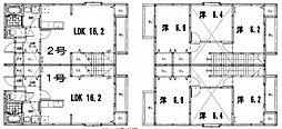 クランベリー・ハウス[2号室]の間取り