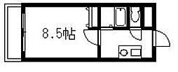 エース弐番館[201号室]の間取り