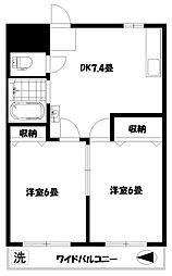 第1島田ビル[5階]の間取り