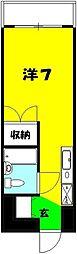 小川ビル[505号室]の間取り