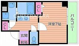 メイゾン都島[3階]の間取り