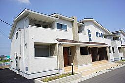 栃木県栃木市大平町下皆川の賃貸アパートの外観