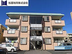 愛知県豊橋市花田町字百北の賃貸マンションの外観
