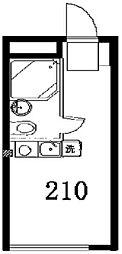 セイコーガーデン1[210号室]の間取り