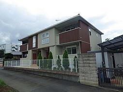 東京都八王子市宇津木町の賃貸アパートの外観