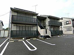 栃木県真岡市熊倉1の賃貸アパートの外観