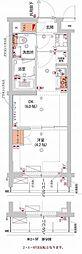 (仮)武蔵小杉フォレストスクエアレジデンス 1階1DKの間取り