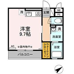 仮)D-Room鎌倉台[3階]の間取り