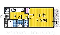 Yebisu[2階]の間取り