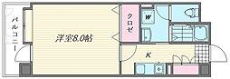 フリュウゲル21[1104号室]の間取り