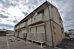大阪府松原市新堂4丁目の賃貸アパートの外観
