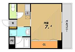 メゾンドヴィレ板宿[2階]の間取り