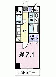 ウィル アヴェニュー[7階]の間取り