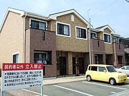 愛知県豊橋市西口町の賃貸アパートの外観