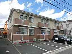 千葉県市原市八幡北町3丁目の賃貸アパートの外観